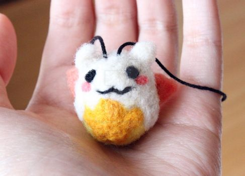Needle Felted Tamadra AVAILABLE ON ETSY by Remember2fly1