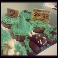 Gruffalo cupcakes by AdaBerry