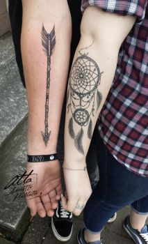 CoupleTattoo by myAtta-art