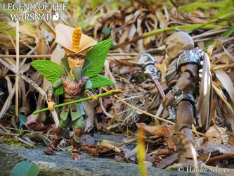 3D Printed Flower Fairy Action Figure A by hauke3000