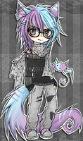 Bubblegum Shota -Neko Adopt #10 [CLOSED] by nerinrin