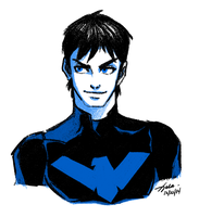 Nightwing by xelartworks