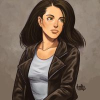 Daily Sketches Jessica Jones by fedde