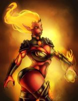 Fire badass by Zelmarr
