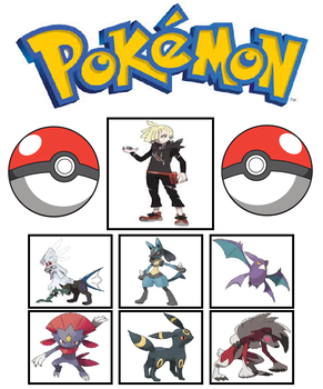 Pokemon Team (Gladion) by Foxboy614