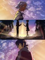 Your Name - Keith x Allura by KP-Lionheart