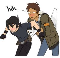 Voltron Wedgie (Lance and Keith) Edit #2 by EigdewK