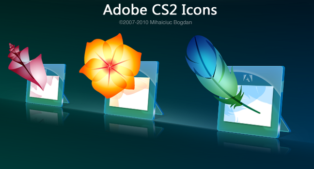 Adobe Glass Icons by bogo-d
