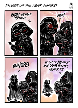 Father of The Year Award by TeamAwesome-go