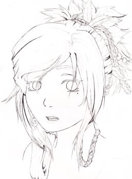 Lily-Uncolored by Pyyrrha