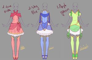 Adopts 8 - Paypal Auction CLOSED by rika-dono