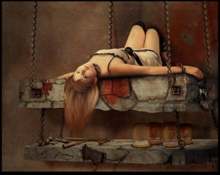 Torture Bed by doll-lucci