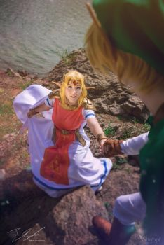 Legend of Zelda - Save me Link! by Shappi