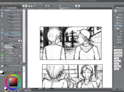 My Pencil brush 2 (for Manga Studio/Intuous PRO) by Brant-Bi