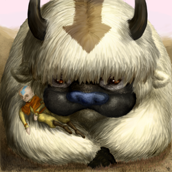 Appa again. by NimueKaiba