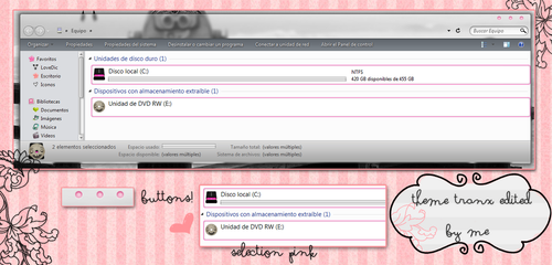 Theme TRANX edited by me by creamanuali