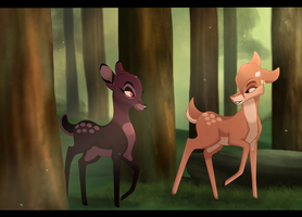 Stroll Through The Woods~ by HeadlessLioness