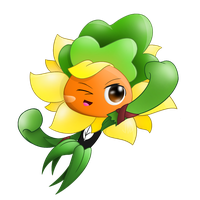PvZ Heroes Solar Flare as Grass Knuckle by JackieWolly
