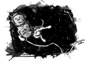 Space Dog by Moonpress