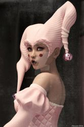 Aiko Harlequin Iray (revised scene) by Edheldil3D