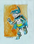 Bat mite sketch by mannycartoon