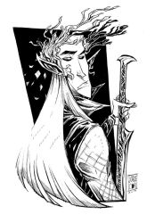 King Thranduil Commission by jorgeCOR