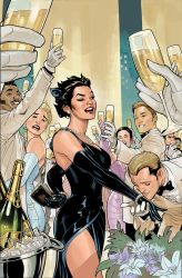 CATWOMAN 29 COVER Work in Progress by TerryDodson