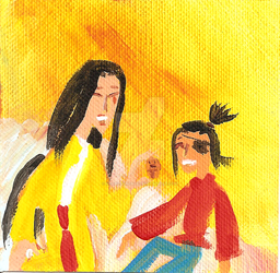 Kubo-versary: Mother and Son by Scared2dream