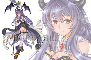 [Closed] Adopt Auction : Demon Priest Girl by Theorika