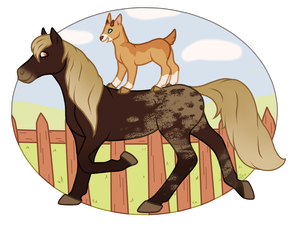 [AT] Ride all day long by Funny-arts