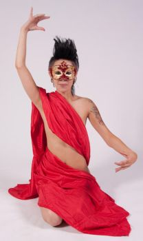 Carnival Red Mask 1 by WhiteWing-Stock-EtAl