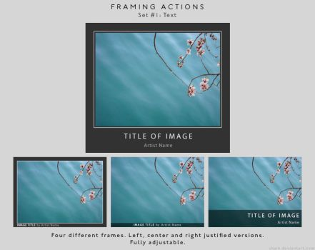 Framing actions - 1 - Text by chain
