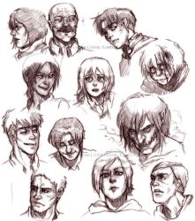 Shingeki no Sketchin' by shaolinfeilong