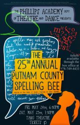 The 25th Annual Putnam County Spelling Bee by DEFYxxNORMALITY