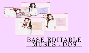 [Base + Portada] Ficha Multimuses Editable | dos by lovexlmost