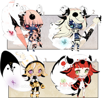 [CLOSED] ADOPT AUCTION 132 - Enigma by Piffi-sisters