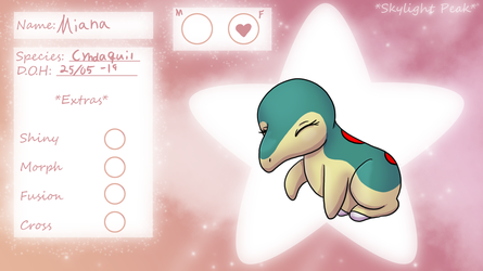 PKMNation - Miana REF by LittleSatyr