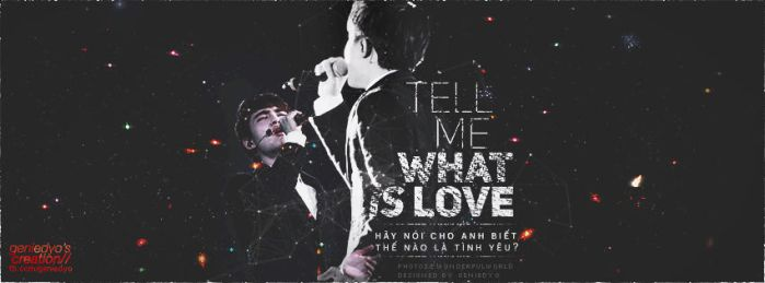 [.GIF] Kyungsoo Quotes ''tell me what is love?'' by GenieDyo