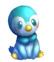 Shiny Piplup by starridge