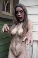 Zombi Lady by antsforce