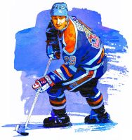 Wayne Gretzky by wooden-horse