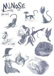 Minose: Sketch Dump by ChibiDonDC