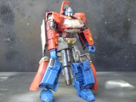 Transformers Orion Pax (young Optimus Prime) by Segerev