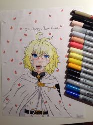 Mika Copic Art Sad by FanGirl23459