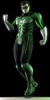 Green Lantern (Injustice) by Yare-Yare-Dong