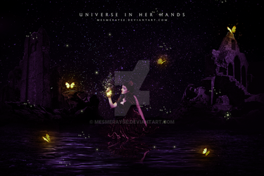 Universe In Her Hands by mesmerayse