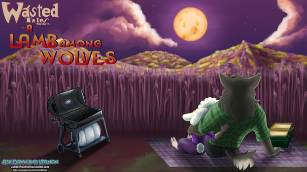 A Lamb Among Wolves Desktop Cover (Zootopia) by WastedTimeEE