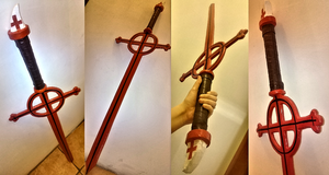 Cosplay Commission - Demon Blood Sword by Emme-Gray