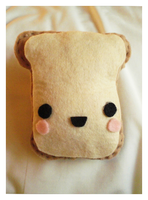 Toast Plush by pullmeoutalive