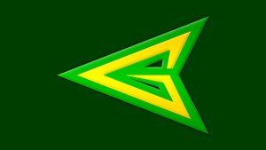Green Arrow Symbol by Yurtigo